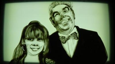 Henk en zijn dochter Andrée