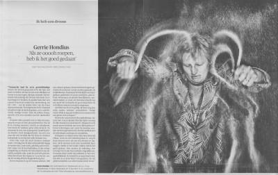 interview van Bas Maliepaard in Letter&Geest, Trouw met foto van Jörgen Caris